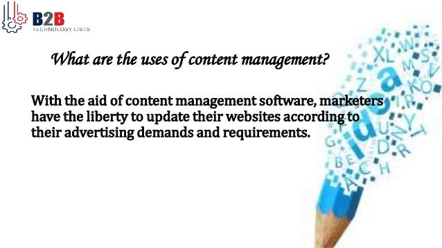Content Management System Users List B2b Technology Lists