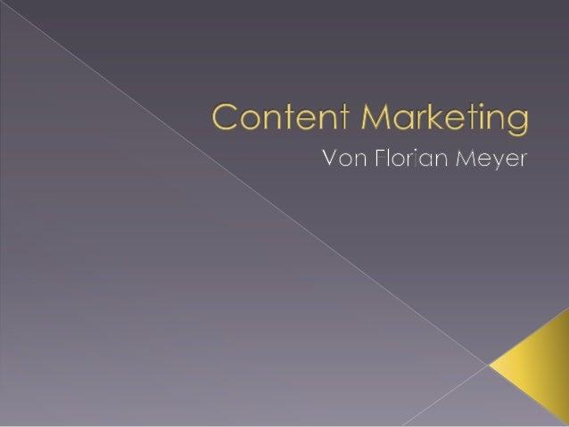  Neuere Theorie des Marketings  Gewünschte Zielgruppe mit informierenden, entertainenden oder beratenden Inhalten anzusp...