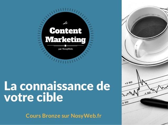 Laconnaissancede votrecible Cours Bronze sur NosyWeb.fr Content Marketing Le par NosyWeb