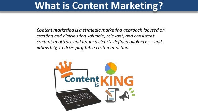 Content marketing is a strategic marketing approach focused on creating and distributing valuable, relevant, and consisten...