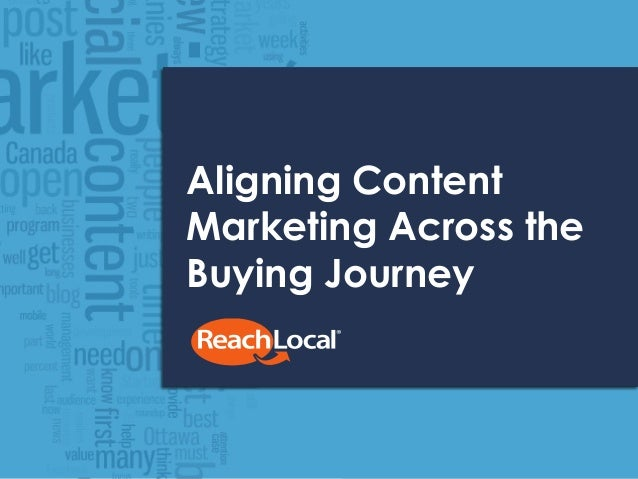 Aligning Content Marketing Across the Buying Journey