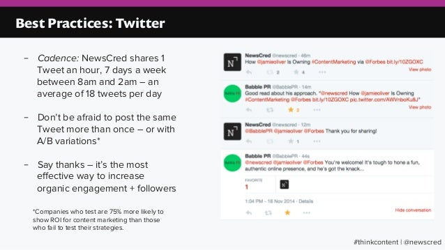 4ab768187204 Best Practices  Twitter – Cadence
