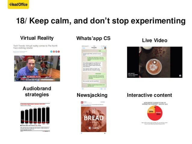 """19/ """"Either fully commit to content marketing, or just go buy ads""""* *CMWorld2016 – Joe Pulizzi"""