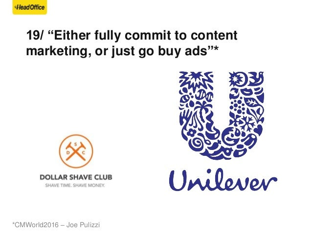 20/ If you spend 10% of your ad budget in content marketing you will succeed We are an agency that helps companies interac...