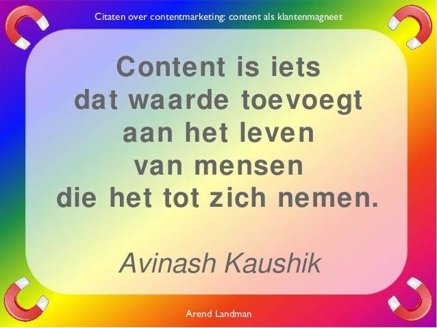 Citaten Over Mensen : Contentmarketing citaten klantenmagneet content quotes