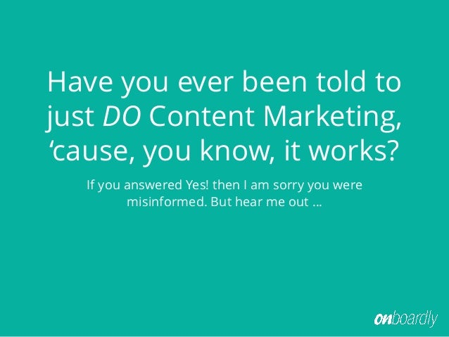 Content Marketing Detox: How to Beat the Bulge Slide 2
