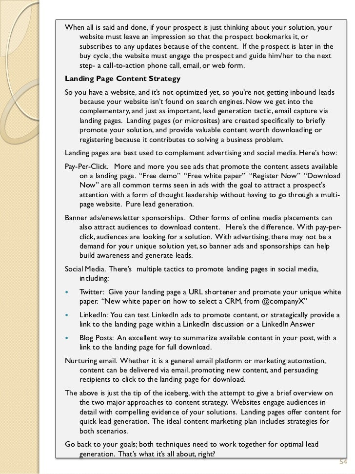 content marketing essays by content professionals 53 54