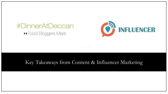 Agenda Key Takeaways from Content & Influencer Marketing