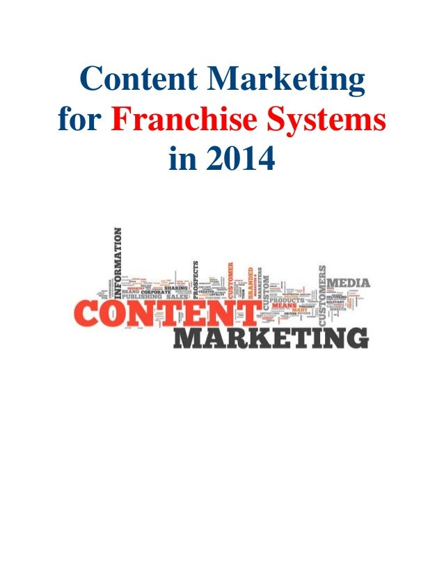 Content Marketing for Franchise Systems in 2014