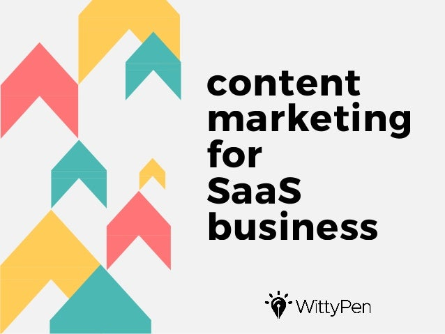 content marketing for SaaS business