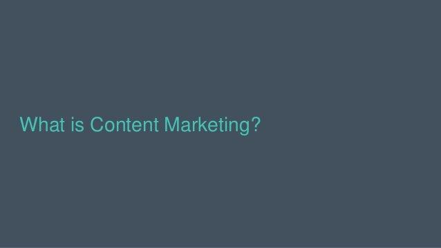 Content Marketing ≠ Social Media Marketing