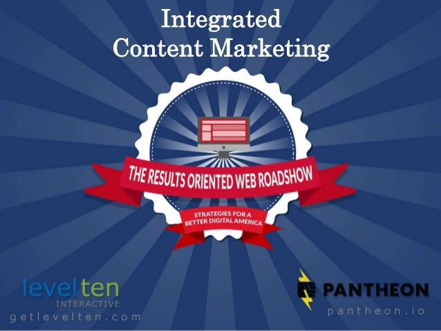 Integrated Content Marketing