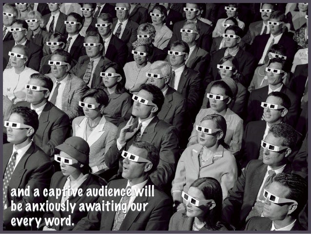 Image result for captive audience