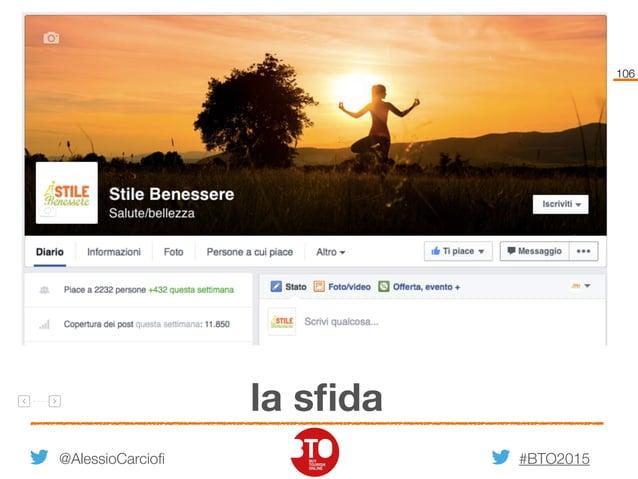 #BTO2015 106 la sfida @AlessioCarciofi