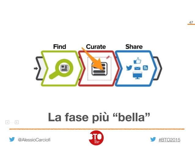 """#BTO2015 47 @AlessioCarciofi La fase più """"bella"""""""