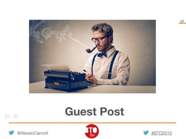 #BTO2015 57 @AlessioCarciofi Guest Post