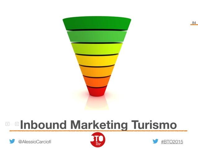 #BTO2015 84 Inbound Marketing Turismo @AlessioCarciofi