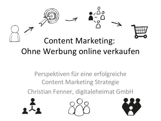 Content Marketing: Ohne Werbung online verkaufen Perspektiven für eine erfolgreiche Content Marketing Strategie Christian ...