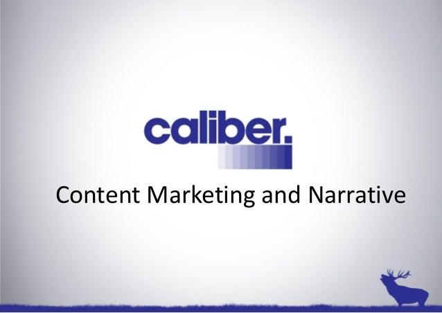 Content Marketing and Narrative