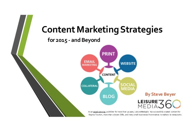 As an award-‐winning publisher for more than 30 years, LeisureMedia360  has successfully created  content fo...