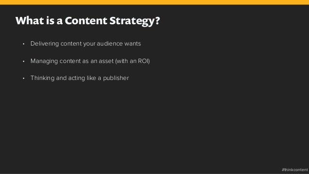 • Delivering content your audience wants • Managing content as an asset (with an ROI) • Thinking and acting like a publ...