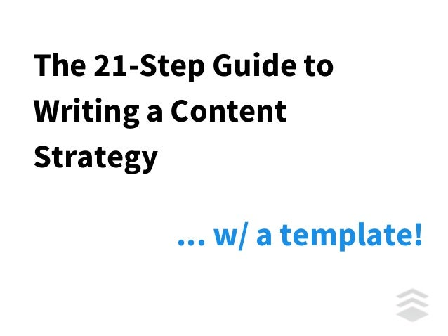 How to Write a Content Marketing Plan Step-by-Step Slide 2