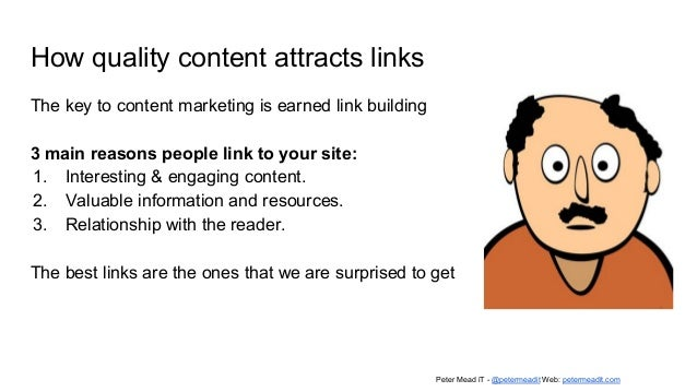 Appropriate content types Content most suitable for the audience personas. In many cases we begin with Articles written fo...
