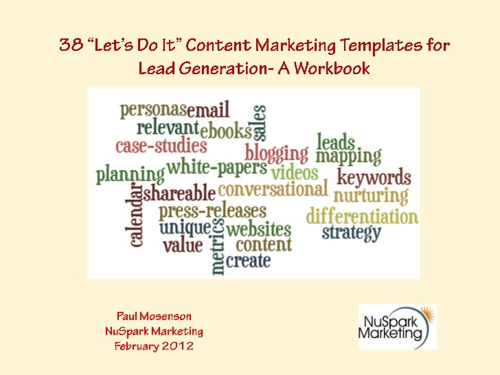 What Is This?• A unique set of content marketing templates and checklists  that you can utilize immediately to begin, enha...