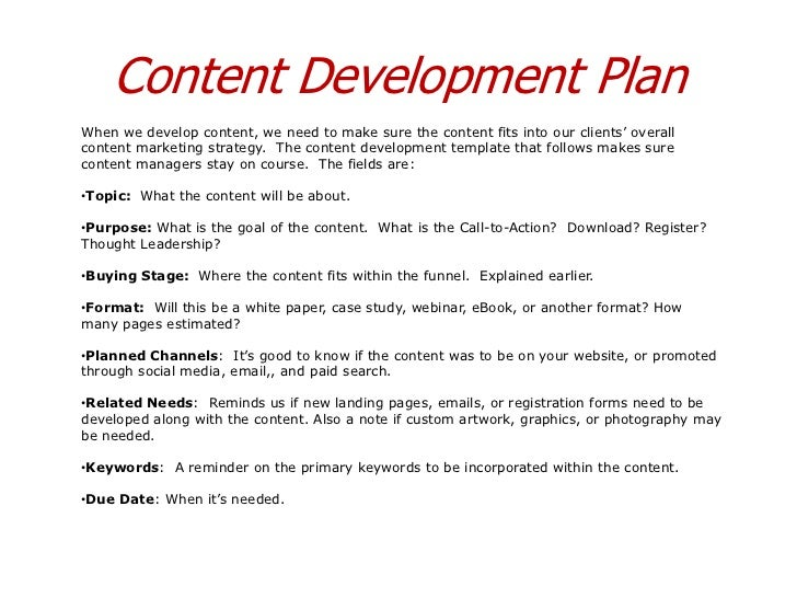 Content Marketing Strategy Templates - Content marketing schedule template