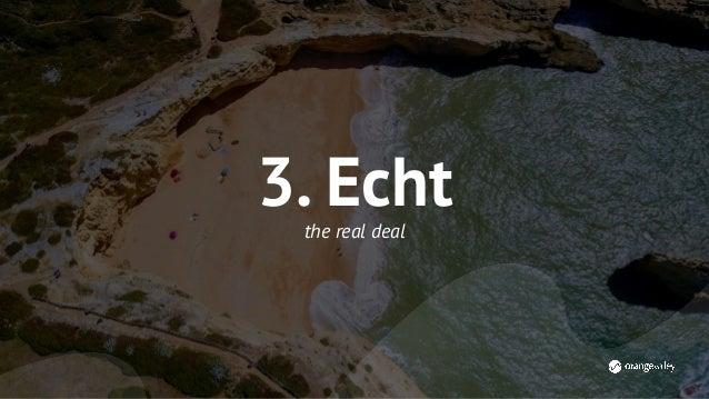 Samenvattend: 1.Relevant 2.Persoonlijk 3.Echt Focus je resources op het maken van 1 stuk waanzinnig goede content. Besteed...