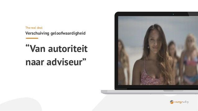 ➔ Video (is) wordt de nieuwe contentvorm; ➔ Social media: Facebookgebruik neemt af,TikTok komt eraan; ➔ Copywriters krijge...