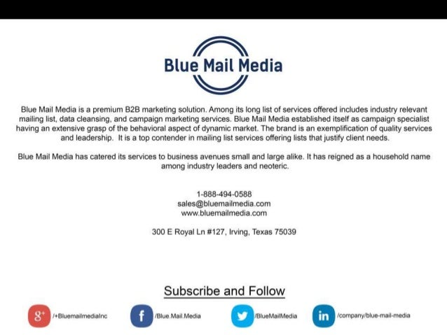 About Blue Mail Media