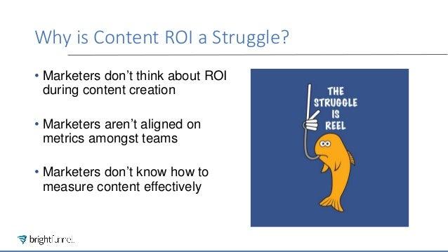 Content ROI Struggle