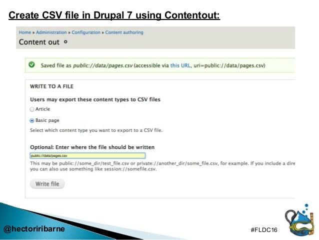 Content migration - CSV to Drupal 8