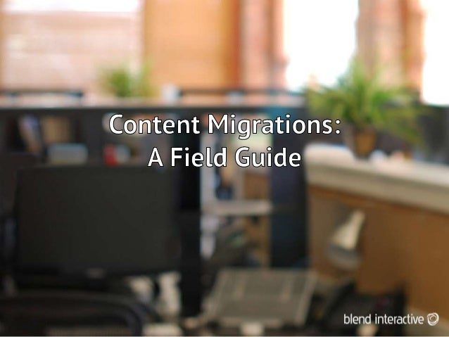 • Author of Website Migration Handbook v2• First large migration: World Bank (1,000+  subsites)• Consults to large and med...