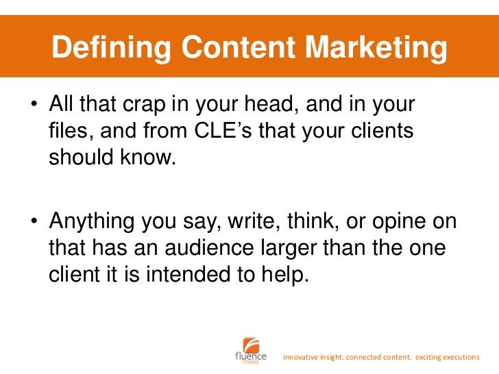 Content Marketing for Lawyers Slide 3