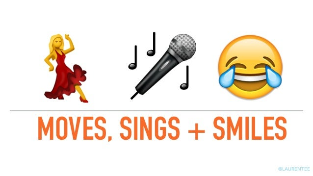 Creating Content that Moves, Sings & Smiles  Slide 3