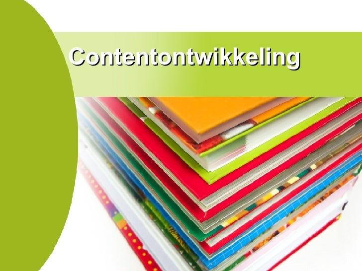 Contentontwikkeling