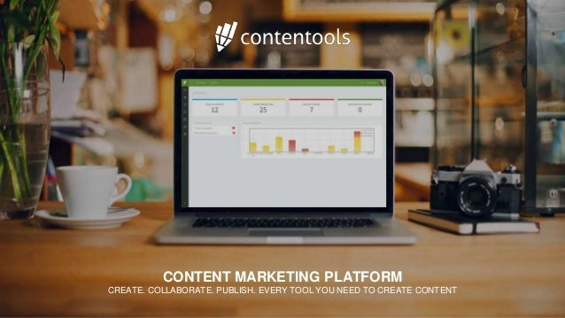 CONTENT MARKETING PLATFORM CREATE. COLLABORATE. PUBLISH. EVERY TOOL YOU NEED TO CREATE CONTENT