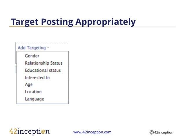 Content Posting Guidelines Facebook Slide 3