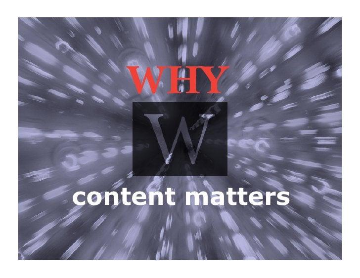 content matters                  15