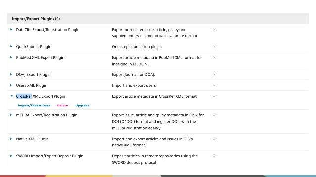 """Depositando e verificando DOIs ● Você pode ver seus artigos e o status dos DOIs clicando na guia """"artigos"""" na parte superi..."""