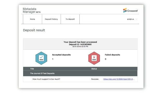 O que acontece quando… • Você descobre um erro após o depósito • Como você corrige os metadados? • Você atualiza seu websi...