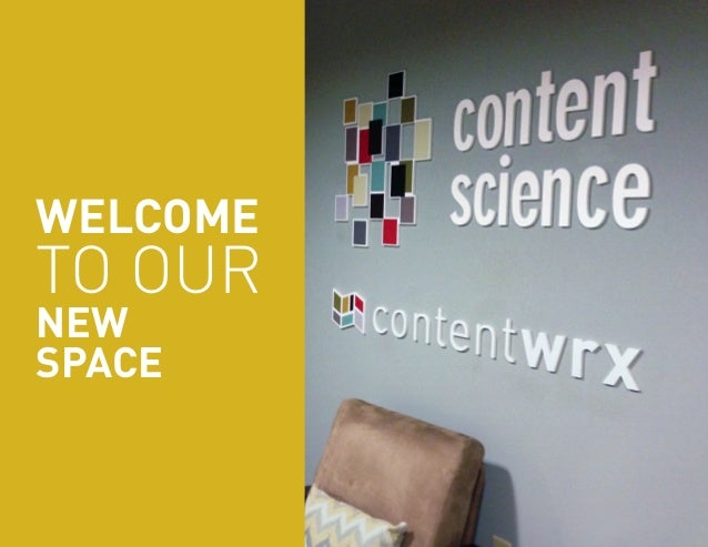 WELCOME  TO OUR  NEW  SPACE