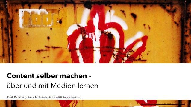 JProf. Dr. Mandy Rohs | TU Kaiserslautern | FachgebietPädagogik | Juniorprofessur für Pädagogik mit SchwerpunktSchulentw...