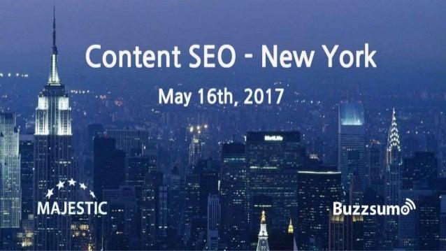 Lee Odden, CEO TopRank Marketing ContentSEO New York