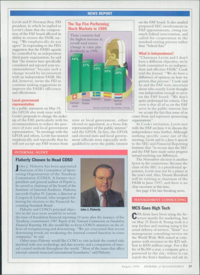 NEWS REPORT  Levitt and P. Norman Roy, FEI  president, in which he replied to  Levitt's claim that the coniposi-rion  of t...