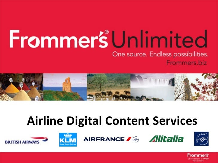 Airline Digital Content Services