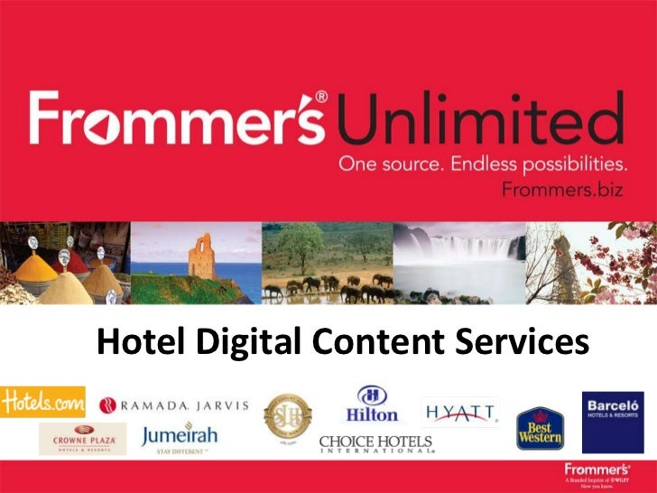 Hotel Digital Content ServicesFrommers.com