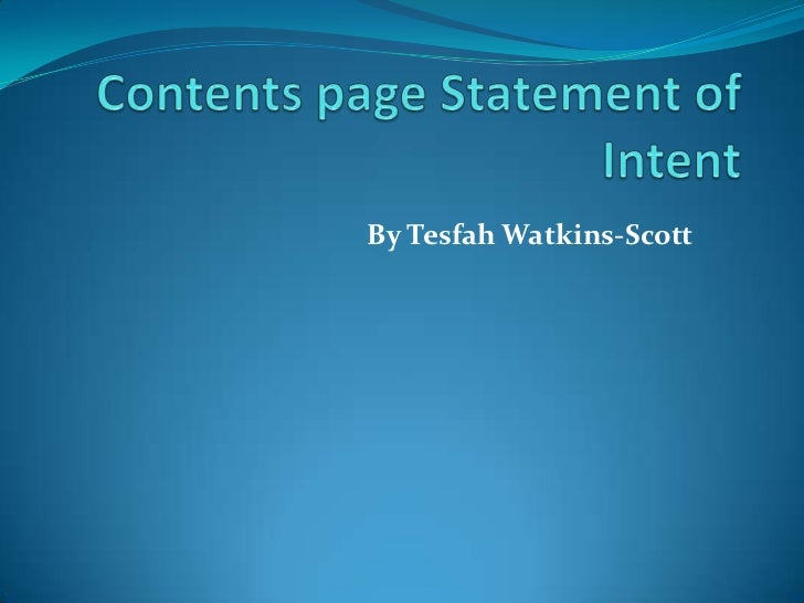 By Tesfah Watkins-Scott